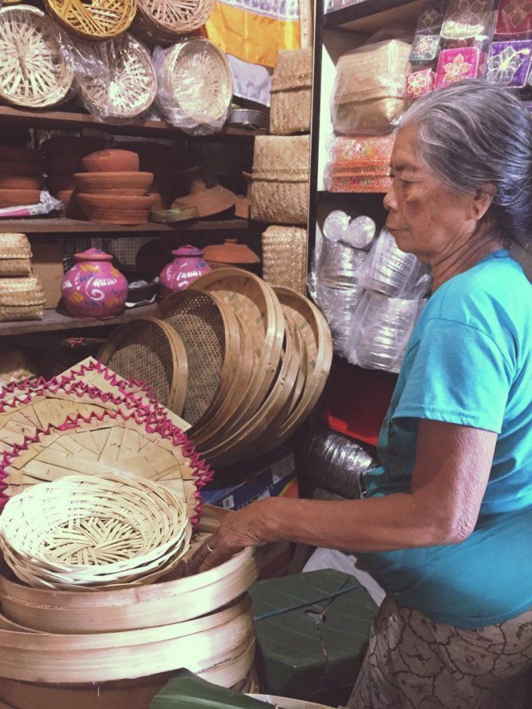 Bali - Ubud marché _1977
