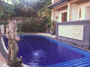 Bali - Tebesaya Cottage piscine _1977