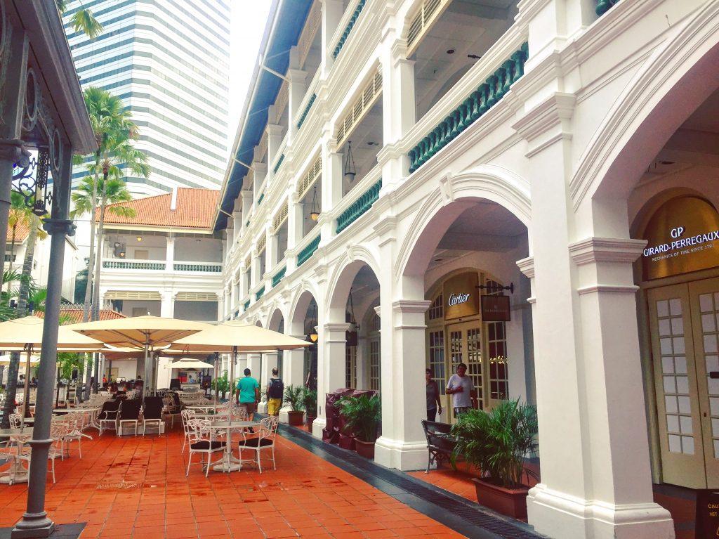 Singapour - Raffles Hotel
