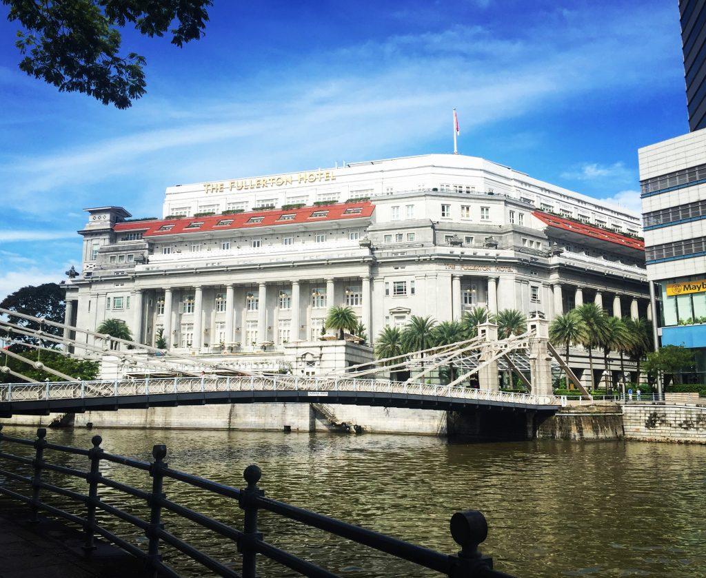 Singapour - Fullerton Hotel