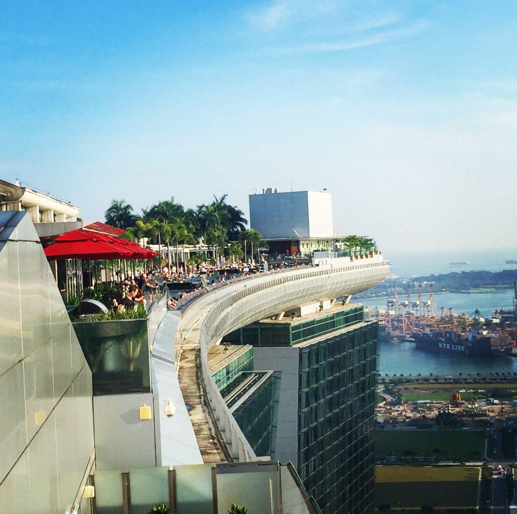 Singapour le quartier de la marina les carnets de marine for Singapour marina bay sands piscine