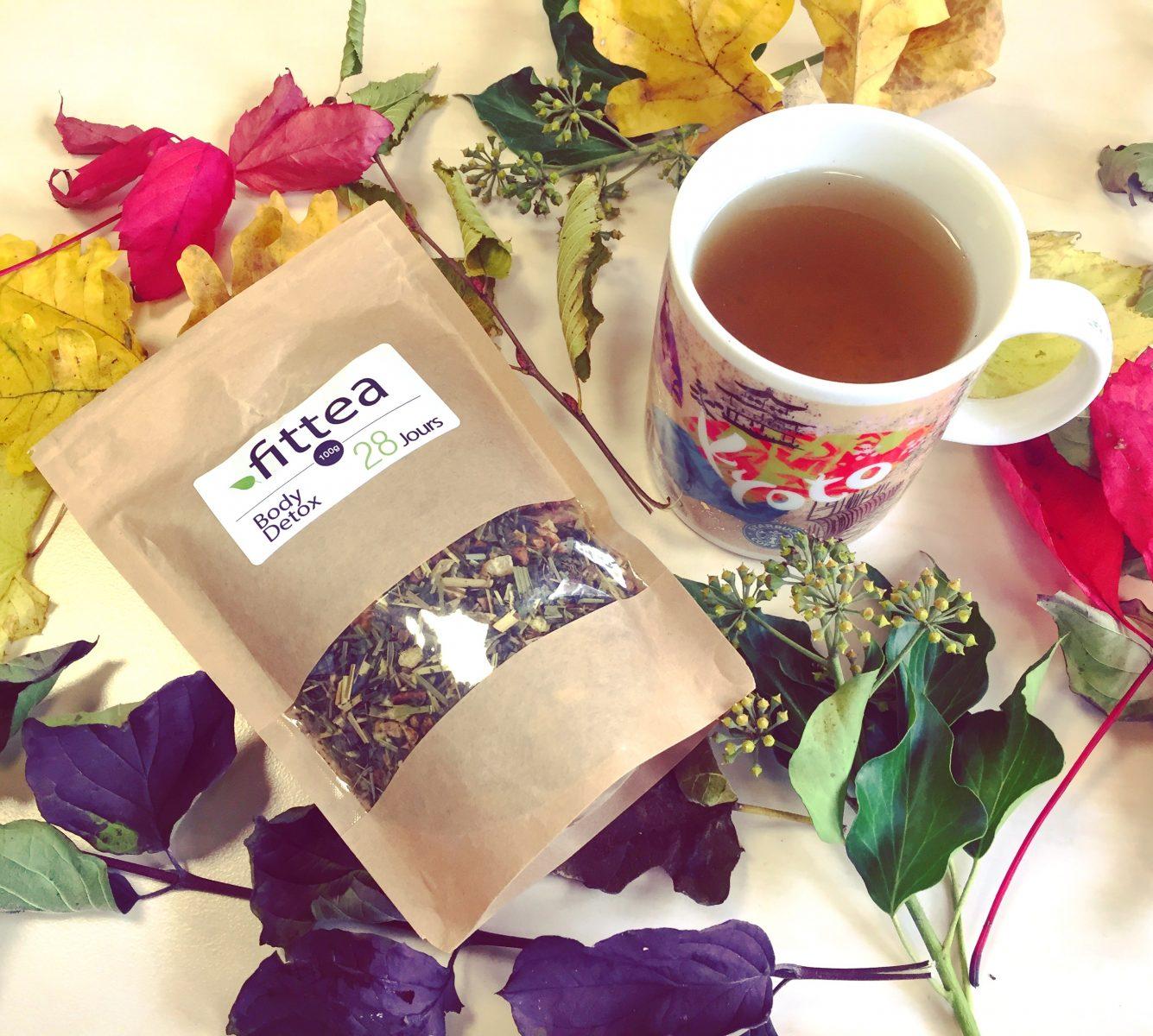 J'ai testé : le thé FITTEA