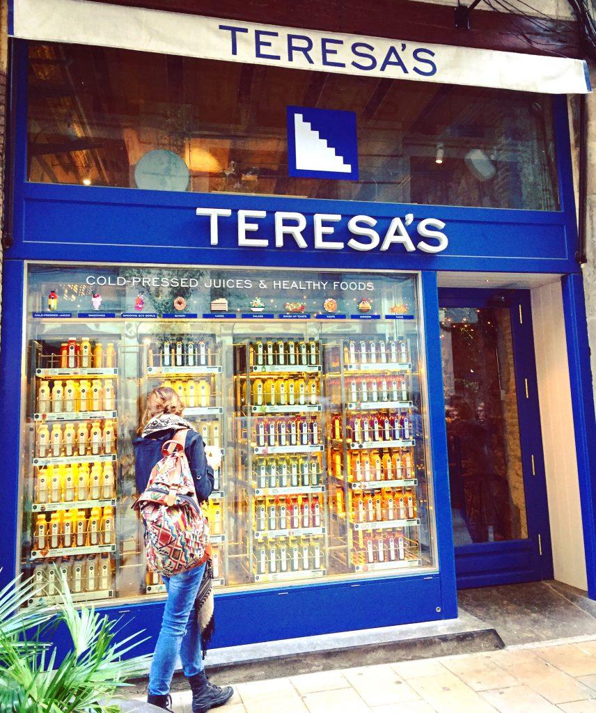Barcelone - Teresa Carles et Flax & Kale - restos veggie