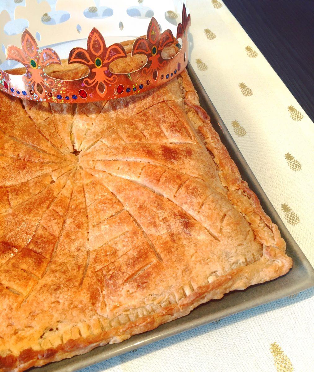 Galette des rois aux pommes - vegan, sans gluten