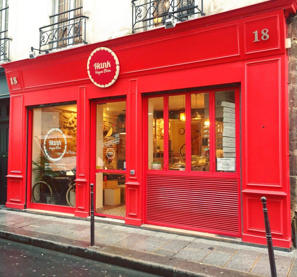 Hank Vegan Pizza - Paris