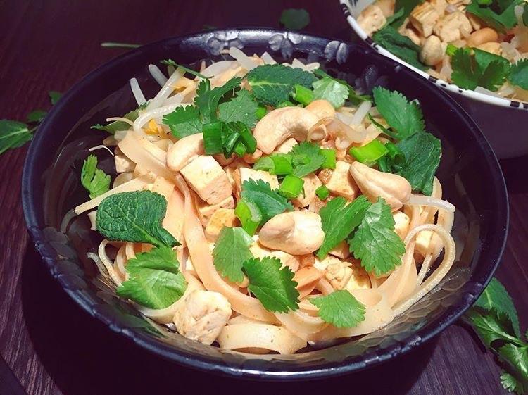 Pad Thai vegan et sans gluten