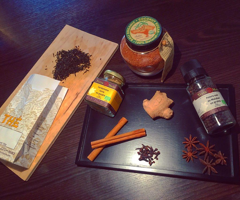 Ma recette du Chai Latte - Thé indien vegan, sans lactose, sans gluten