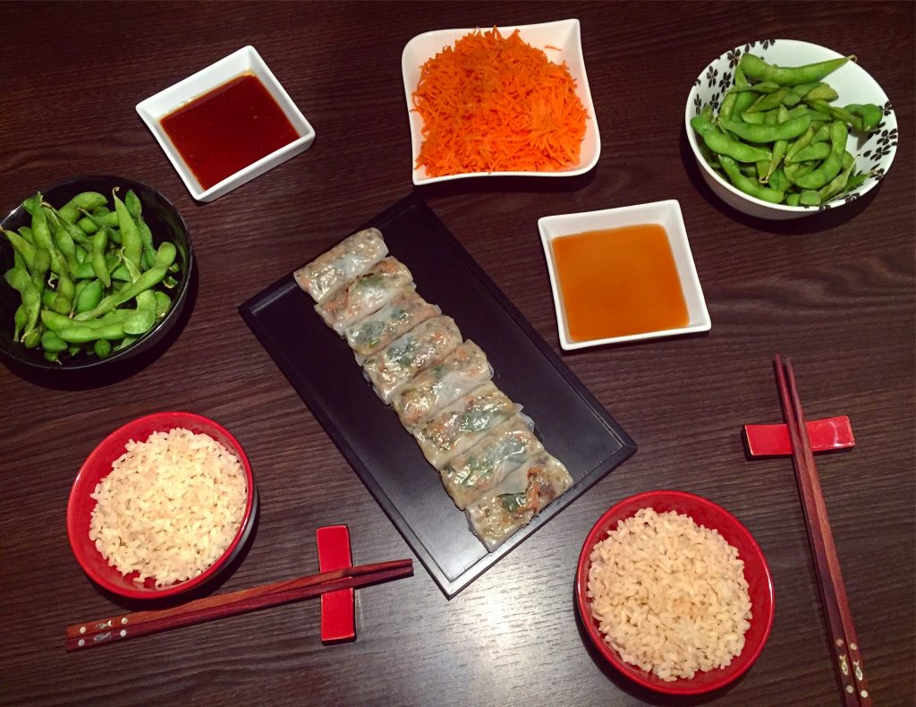 Raviolis vietnamiens aux légumes et edamame Picard