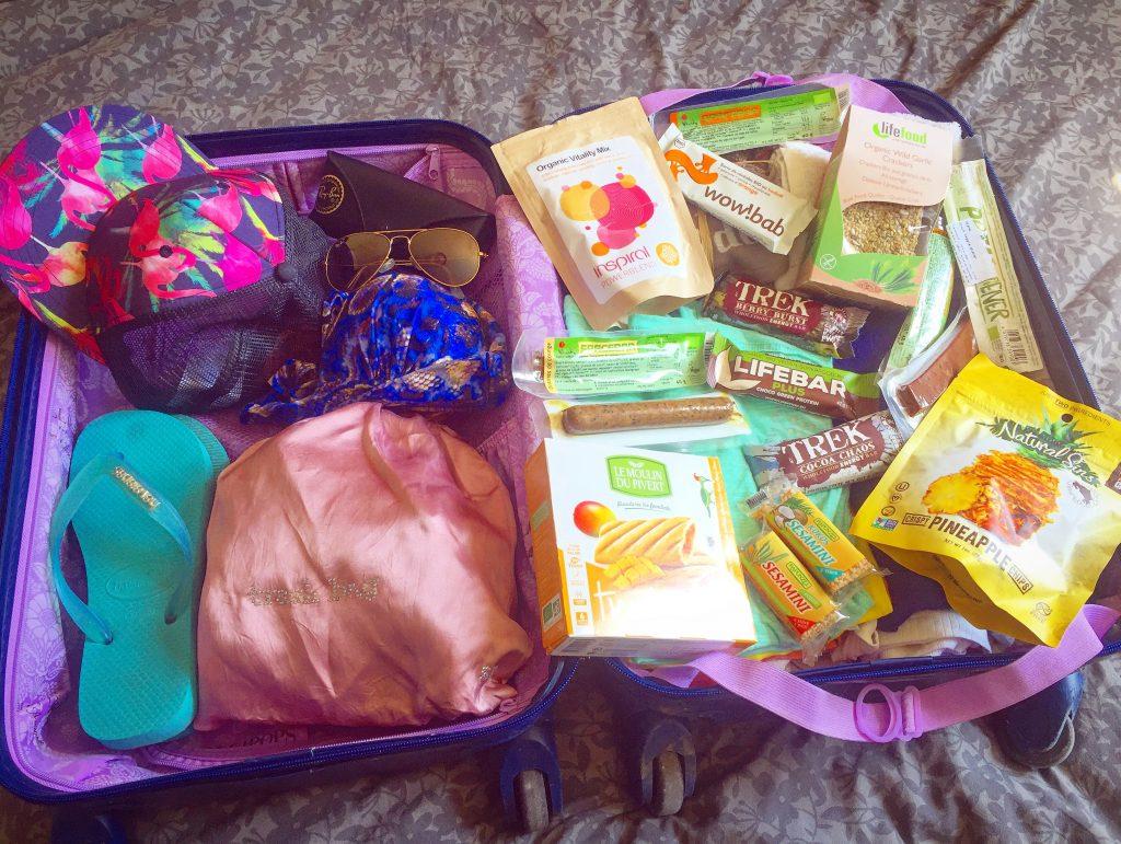 Voyager vegan #2 : Mes snacks favoris, à emmener dans sa valise