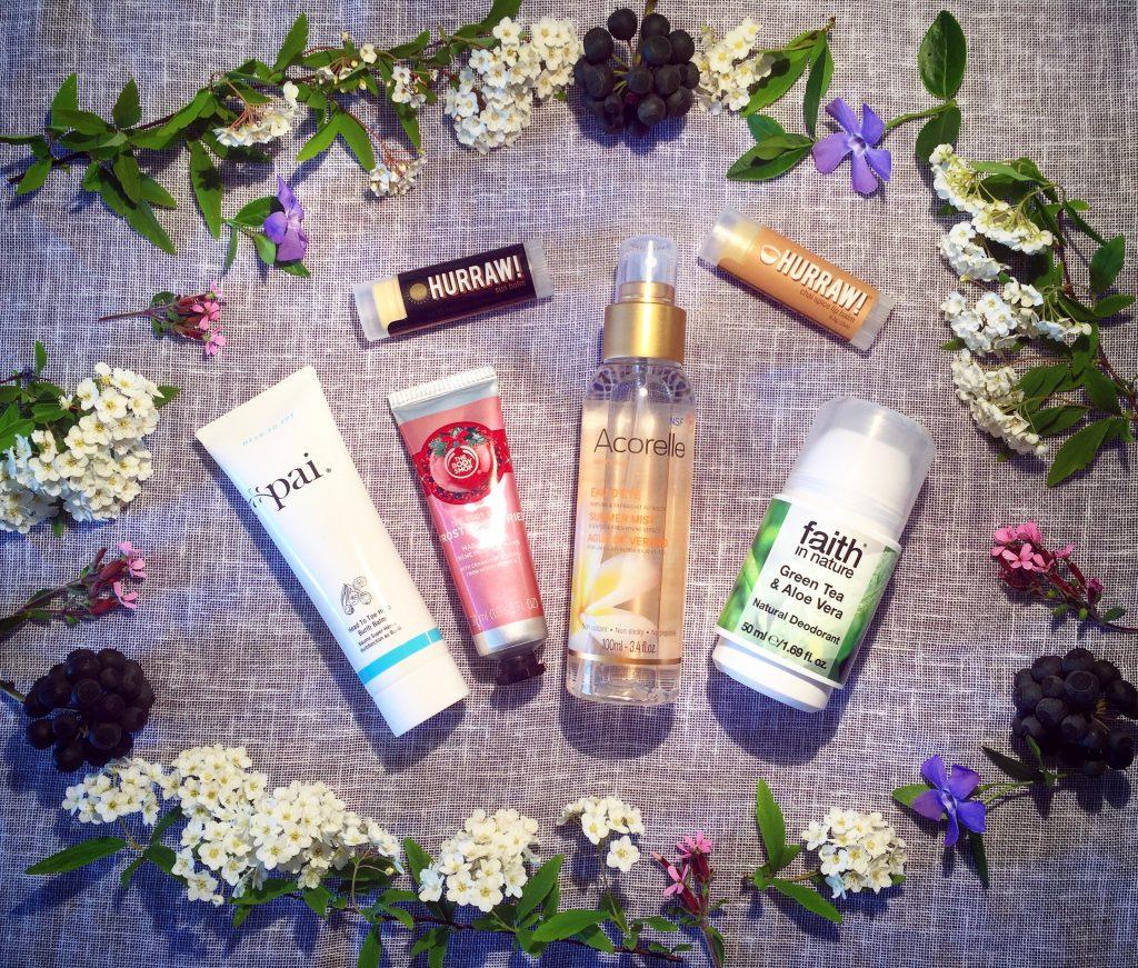 Voyager Vegan #1 : Mes cosmétiques pour des vacances au soleil