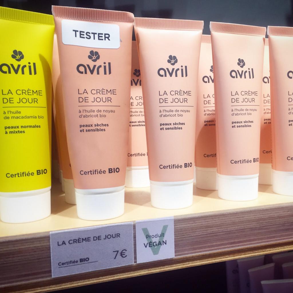 Avril : maquillage et cosmétiques bio, cruelty-free et (presque tous) vegan