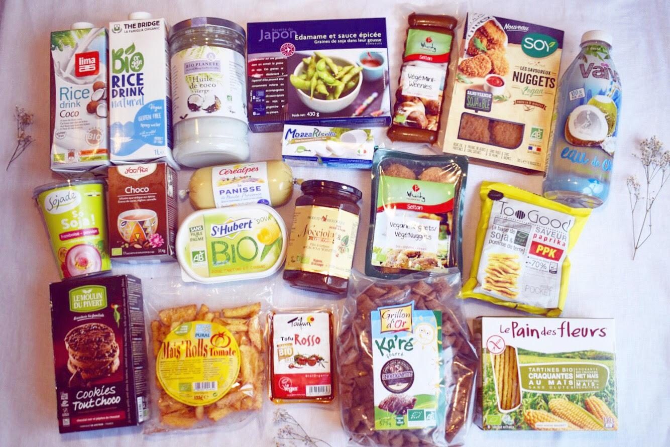 Mes favoris food !!! Ma sélection de 15 produits vegan totalement addictifs