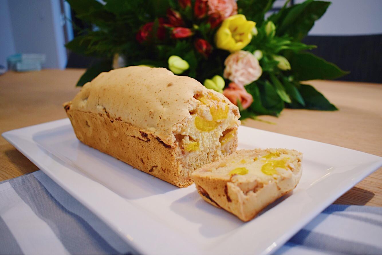 Cake aux mirabelles - vegan, sans gluten