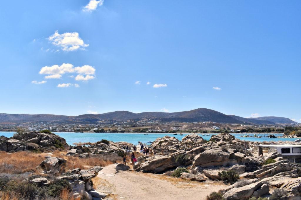 Un week-end sur l'île de Paros, dans les Cyclades