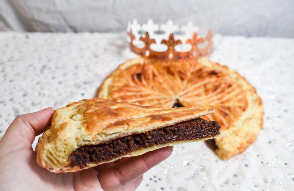 Galette des rois chocolat frangipane - recette végane, option sans gluten