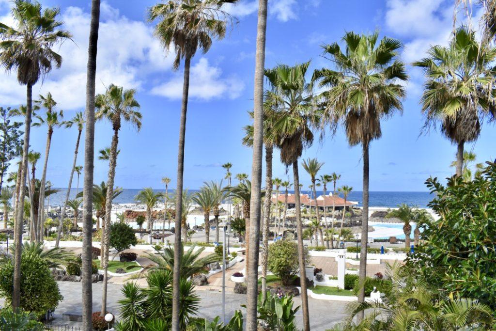 Vue de notre hôtel H10, à Puerto de la Cruz- Tenerife, Iles Canaries